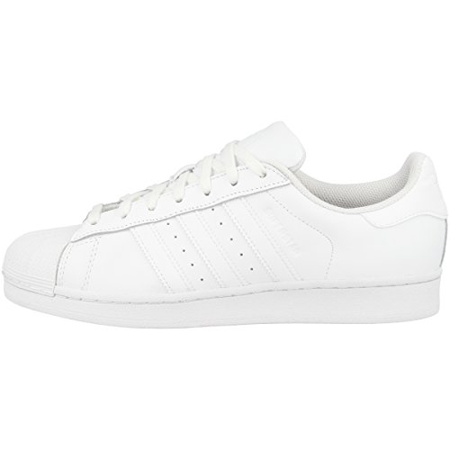 adidas Originals Superstar, Zapatillas Unisex Adulto, Blanco (Footwear White/Footwear White/Footwear White), 44 EU ⭐