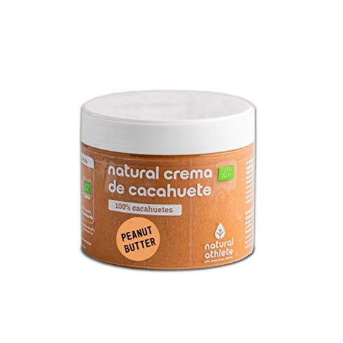 Crema de Cacahuete BIO Natural Athlete Orgánica, 100%
