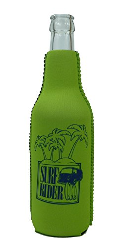 1023109 - neopreen flessenkoeler Surf Rider Green