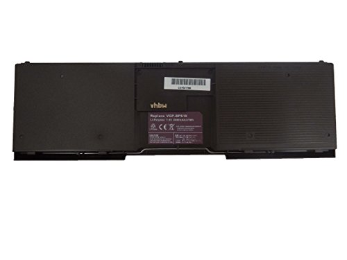 vhbw Li-Polymer Batterie 2800mAh (7.4V) pour ordinateur notebook Sony VAIO VPC-X113KA/B, VPC-X113KG, VPC-X113KG/B, VPC-X115LG/B comme VGP-BPS19.