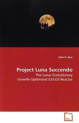Project Luna Succendo: The Lunar Evolutionary Growth-Optimized (LEGO) Reactor