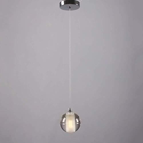 La decoración del hogar Iluminación Cristalina moderna minimalista LED de la lámpara creativa del café del restaurante Lluvia de meteoros araña de hierro de la sala de estudio dormitorio de la lámpara
