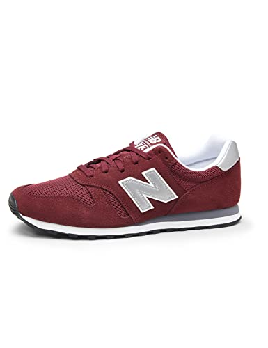 New Balance ML373, Zapatillas para Hombre, Rojo (Burgundy/Silver), 42 EU