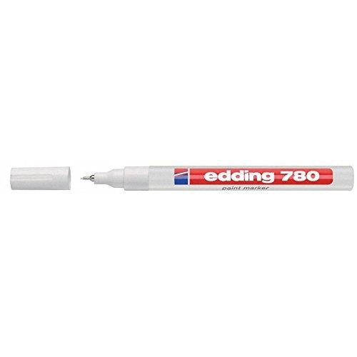 Edding 780 paint marker, 0,8mm, weiß, Lackmarker
