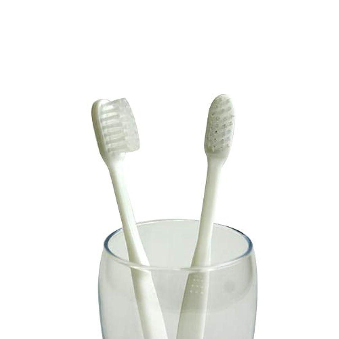 グラムスーツスコットランド人業務用使い捨て歯ブラシ(ハミガキ粉無し) 500本入り│口腔衛生用 清掃用 掃除用 工業用 ハブラシ はぶらし