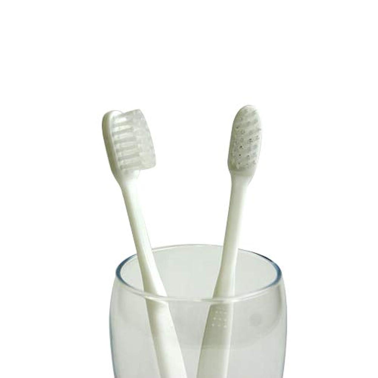 ウェイド気体の巧みな業務用使い捨て歯ブラシ(ハミガキ粉無し) 100本入り│口腔衛生用 清掃用 掃除用 工業用 ハブラシ はぶらし