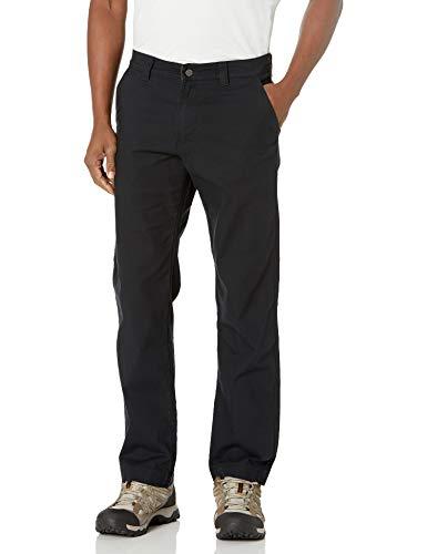 Columbia Flex ROC Pant Pantaloni da Escursionismo, Nero, 48W x 34L Grande Tall Uomo