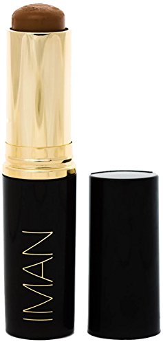 IMAN Cosmetics Second to None Stick Foundation, Dark Skin, Earth 1