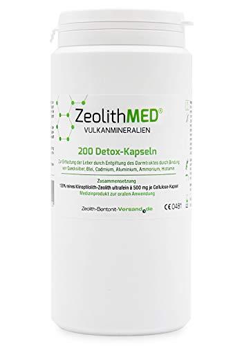 Zeolith MED® 200 Detox-Kapseln zertifiziertes Medizinprodukt CE