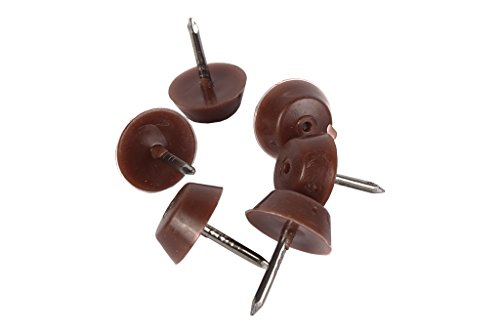 COFAN 61000151 A – Pack van 6 aanslagbuffer stoel klein, bruin