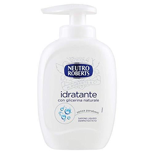 12 x NEUTRO ROBERTS Sapone Liquido Extra Idratante 300 Ml