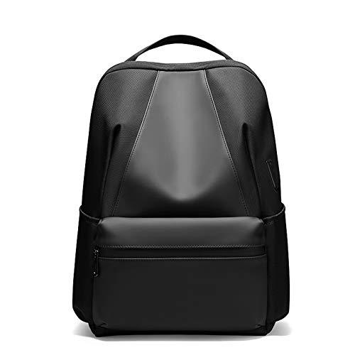 School Backpack 15.6' Travel Laptop Backpack, Work Bag Lightweight Backpack Mens for Girls/Boys Teenage Teens Rucksack with USB Charging Port, Water Resistant School Bags,Black