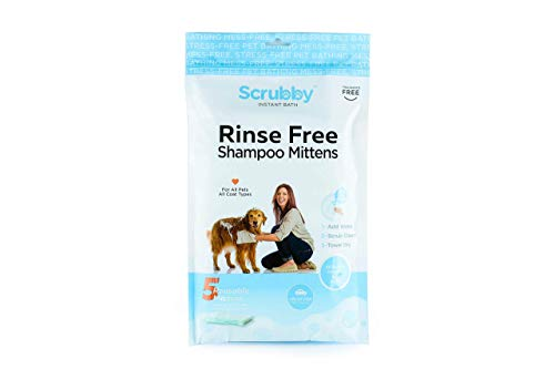 of dog bathings dec 2021 theres one clear winner ScrubbyPet No Rinse Pet Wipes- Use Pet Bathing, Pet Grooming Pet Washing, Simple to Use,Just Lather, Wipe, Dry. Excellent Sensitive Skin. The Ideal Pet Wipes Bathing Your Pet Dog Cat.
