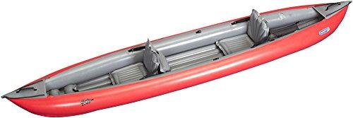 Gumotex Solar 410C Kayak per 3 persone, di colore rosso