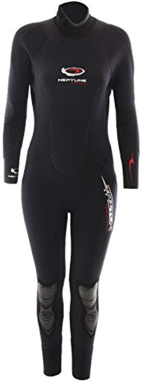 Neptune Triton SemiDry Womens Dive Wetsuit 7 5mm Size 10