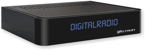 Vistron VT855 DVB-C Radio Tuner, Kabelradio, Radio für digitales Kabelfernsehen