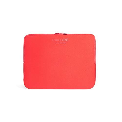 TUCANO Custodia in neoprene per notebook 11.6  & 12.5  Colore Second Skin (Rosso)