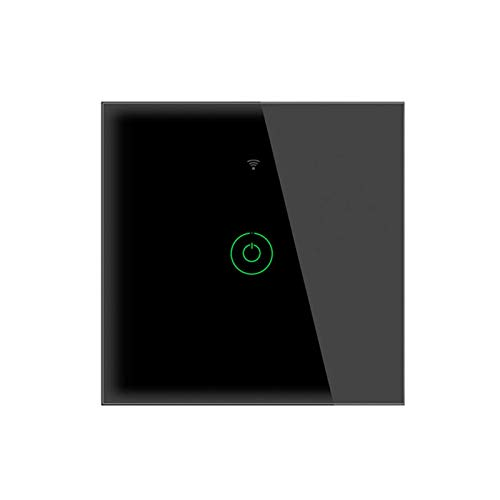 SOLE HOME Interruptor de pared inteligente WiFi, interruptor de 20 A para aparatos de alta potencia, calentador de agua/aire acondicionado/refrigerador, funciona con Alexa Google Home Control de voz