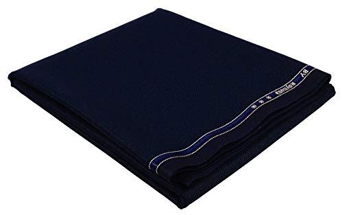 Raymond Men's Poly Viscose Unstitched 1.3 m Trouser Fabric (Blue, Free Size)