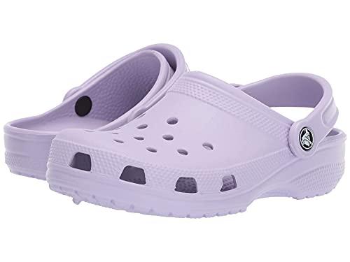 Crocs Unisex Men's and Women's Classic Clog, Lavender, 10 US
