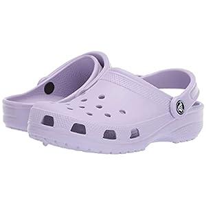 Crocs Unisex Men's and Women's Classic Clog, Lavender, 6 US