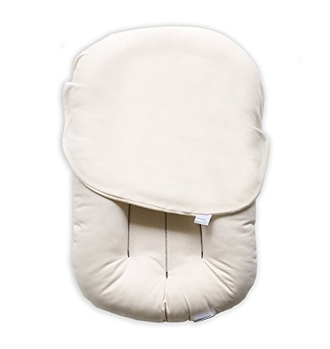 Image of Snuggle Me Organic | Patented Sensory Lounger for Baby | organic cotton, virgin polyester fill