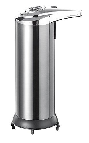 Ribelli Seifenspender mit Sensor 250 ml, ES Seife Seifenaufbewahrung Spülmittelspender