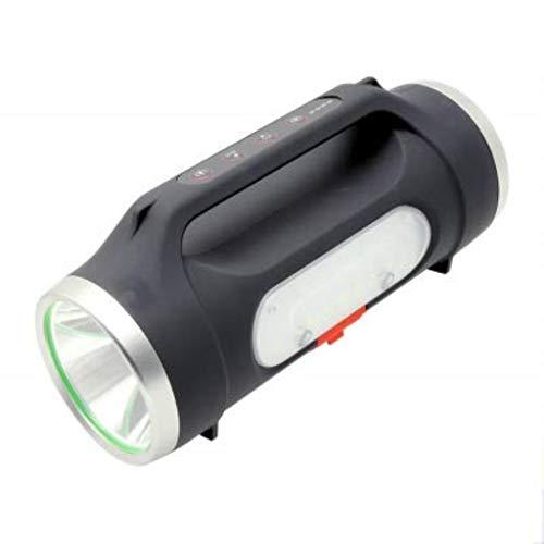 Lampe de Poche USB de Charge Super Bright LED Double Tête Induction Camping Étanche Pêche Grotte Exploration Chasse Torche Électrique