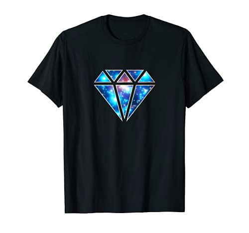 Diamants galaxie espace univers cosmos infini T-Shirt