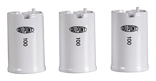DuPont WFFMC103X High Protection 100-Gallon Faucet Mount Water Filtration Cartridge, 3-Pack