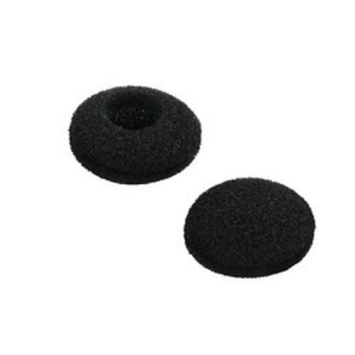 Gadget Zoo 10 PACK Replacement Earphone Black Earpads for Sennheiser MX Model Earbuds - Will Fit Most Headphone Foam Ear Pad Cushion Covers From