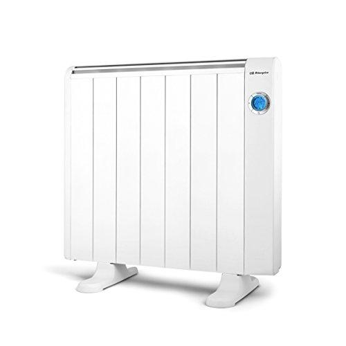 Orbegozo RRE 1310 Emisor térmico, 1300 W, Aluminio, Color Blanco