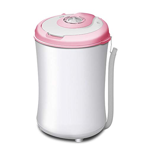 WJMLS Lavadora Lavadora/centrifugadora compacta portátil for apartamento, hogar, Hotel, Dormitorio