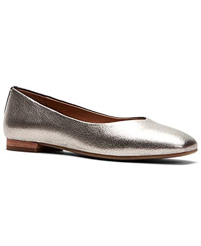 [フライ] シューズ 24.5 cm パンプス Women's Dana Ballet Flats Silver レディース [並行輸入品]