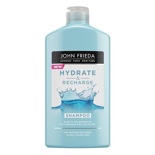 Hyrdate & Recharge John Frieda Shampoo for Dry, Lifeless Hair, 250 ml