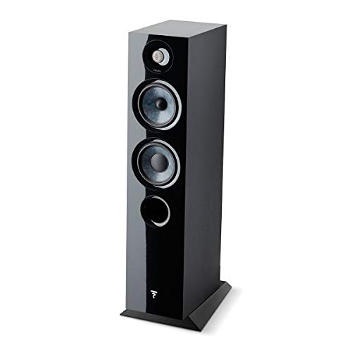 Focal Chora 816 Floor Standing Speaker - Each (Black)