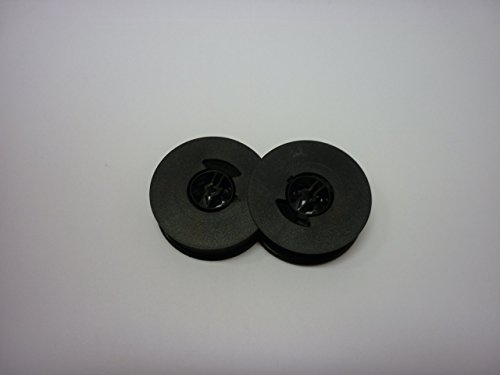 Olivetti lettera 21, 25, 31, 32, 35, 36, 36C, 82and S14Typewriter Ribbon, Compatible, nero