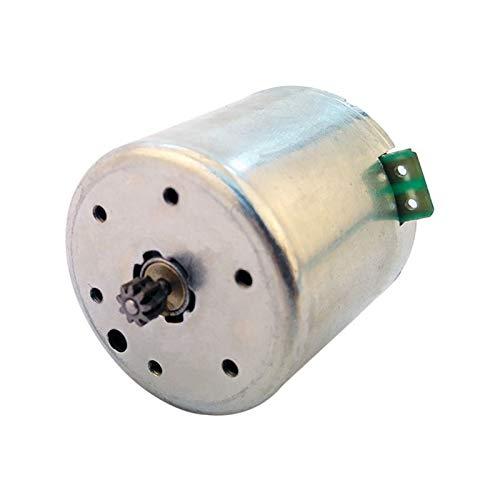 Wusfeng LHongBin-Motor DC Regulador de Voltaje 12V DC Motor, para Piezas de Repuesto, 38ZE25 38ZY13, Amplia Gama de Aplicaciones (Speed(RPM) : 38ZY13 10 Tooth Gear)