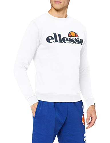 Ellesse Agata Sweatshirt Sweats Femme, Blanc (Optic White), S