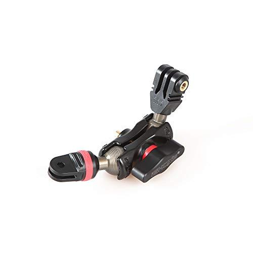 iSHOXS Small Grab Pro, Flexible Verlängerung aus Aluminium passend für GoPro kompatible Kamera-Halterungen - Kugelköpfe aus Aluminium (40mm (Pro))