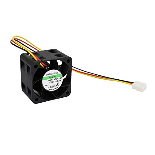 Twinkle Bay 40x28mm Cooling Fan, Replacement for Maglev Cooling Fan, 40 x 40 x 28mm with 3 Pin 3 Wire Connector (12V DC, 2.8 W)