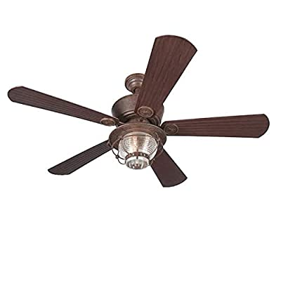 Merrimack Ceiling Fan With Light and Remote Review