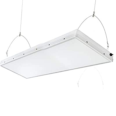 2FT Linear LED High Bay Light, 165W with 20000 Lumens,5500K Daylight White,500W-600W HPS Equivalent,Great High Bay LED Shop Lights for Warehouse Garage Commercial Lighitng