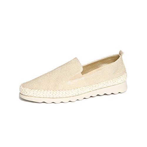 The FLEXX Damen Chappie Sneaker, Gold (Gold Milos), 38.5 EU