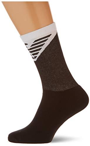 Emporio Armani Underwear Mens Short Socks Set 2Pack Sporty, Black, TU