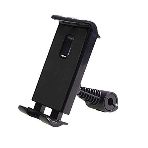 Soporte Tablet Coche Central Soporte Tablet Coche Reposacabezas del soporte de la tableta del coche Almohada para reposacabezas de asiento de coche Black,One Size