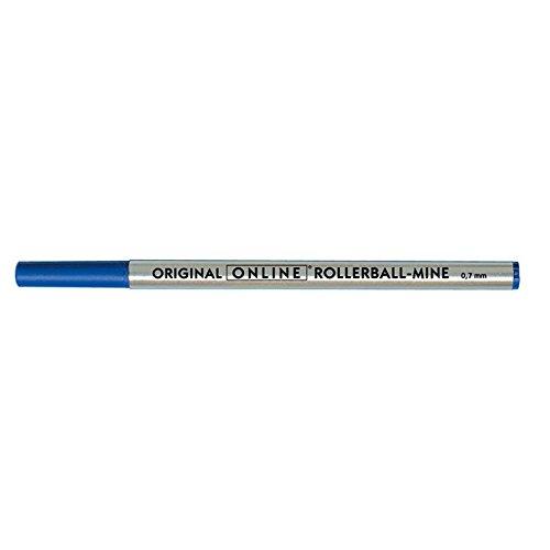 Online 40033/3 - Rollerball-Mine, Strichstärke 0,7 mm, Schreibfarbe blau, ISO 14145-2, 1 Stück