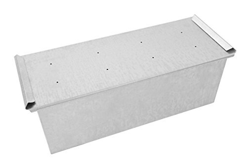 Stampo pane in cassetta o pan carrè - Dimensione Cm 45 x 15 x 15-1,8 Kg di impasto circa