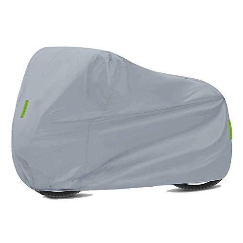 Cubierta Universal para Motocicleta:Protección Impermeable Aire Libre para Todas las Estaciones Contra polvo,Escombros,Lluvia Clima Reemplazo de tela 210D Oxford para Honda,Suzuki,Kawasaki,Yamaha,BW