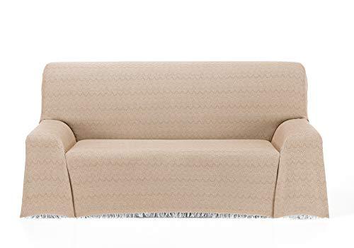 Cardenal Textil Regina Foulard Multiusos, Beige, 230x290 cm
